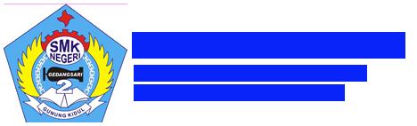 SMK N 2 Gedangsari Logo